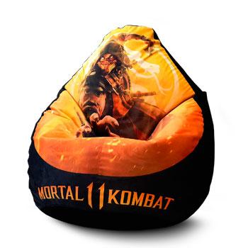 Кресло с печатью Mortal Kombat