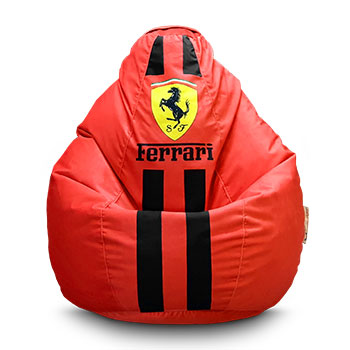 "Кресло груша ""Ferrari print"""